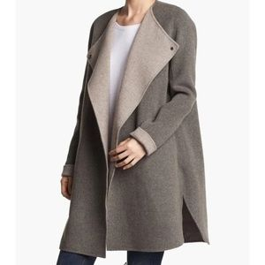 Vince wool reversible cardigan